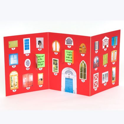 A-door-able Advent Calendar