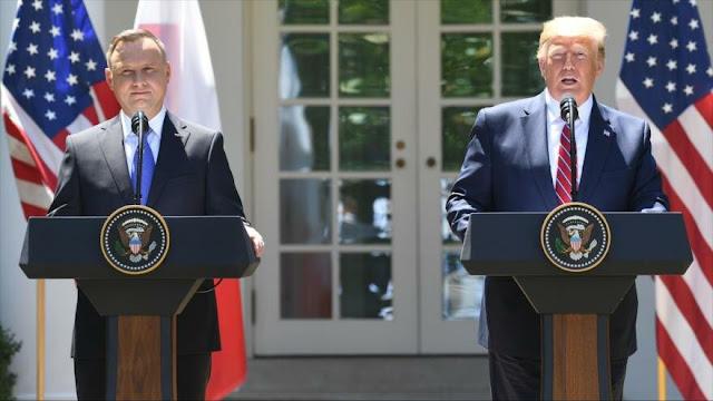 EEUU reforzará presencia militar en Polonia con otros 1000 soldados