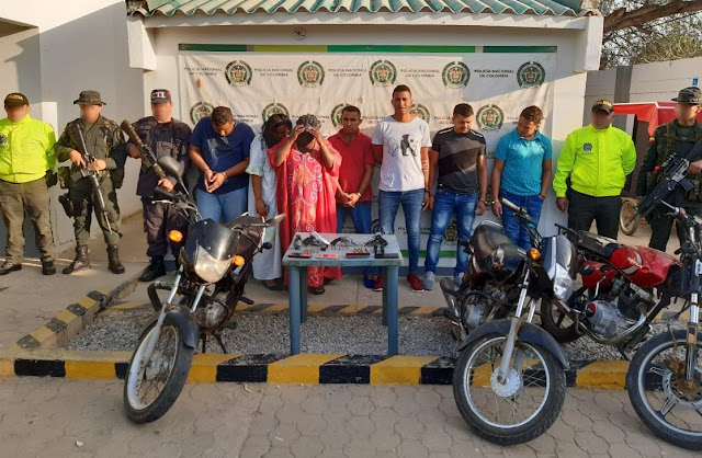 En Uribia caen siete de 'Los Pachecas'