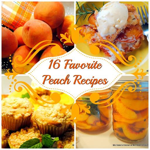 16 Favorite Peach Recipes
