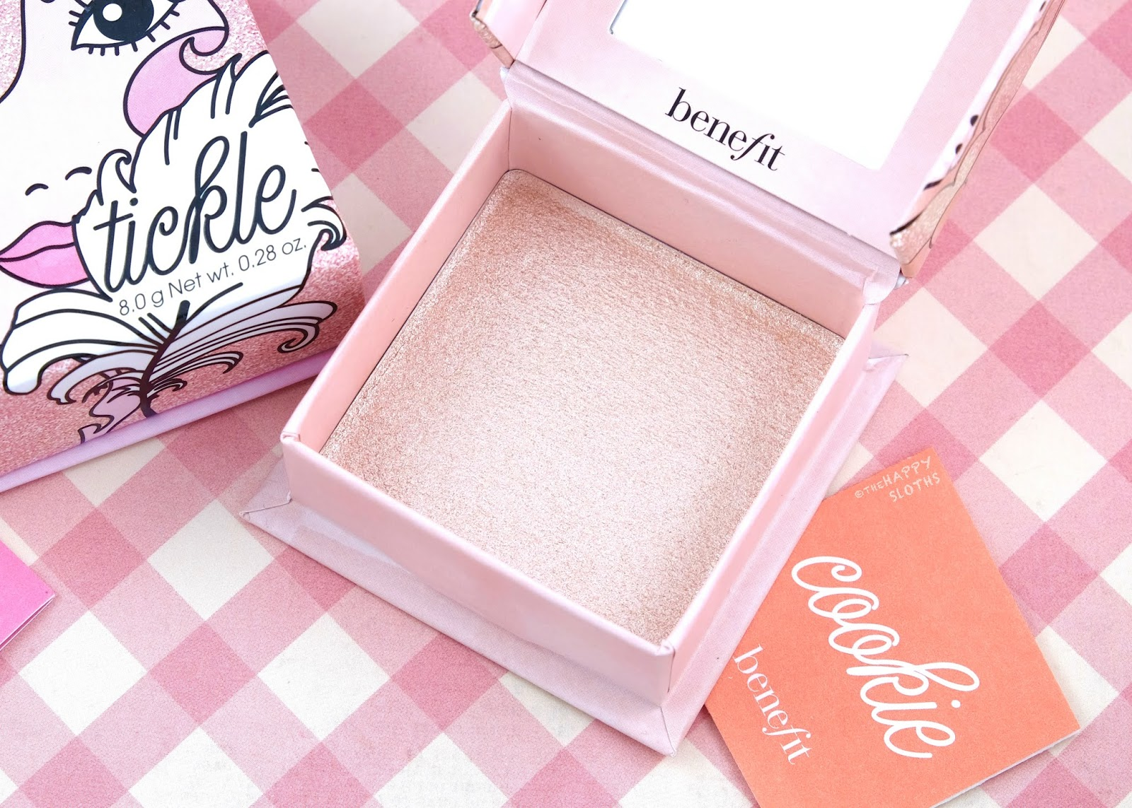 Benefit Cosmetics | Cookie Highlighter: Review and Swatches