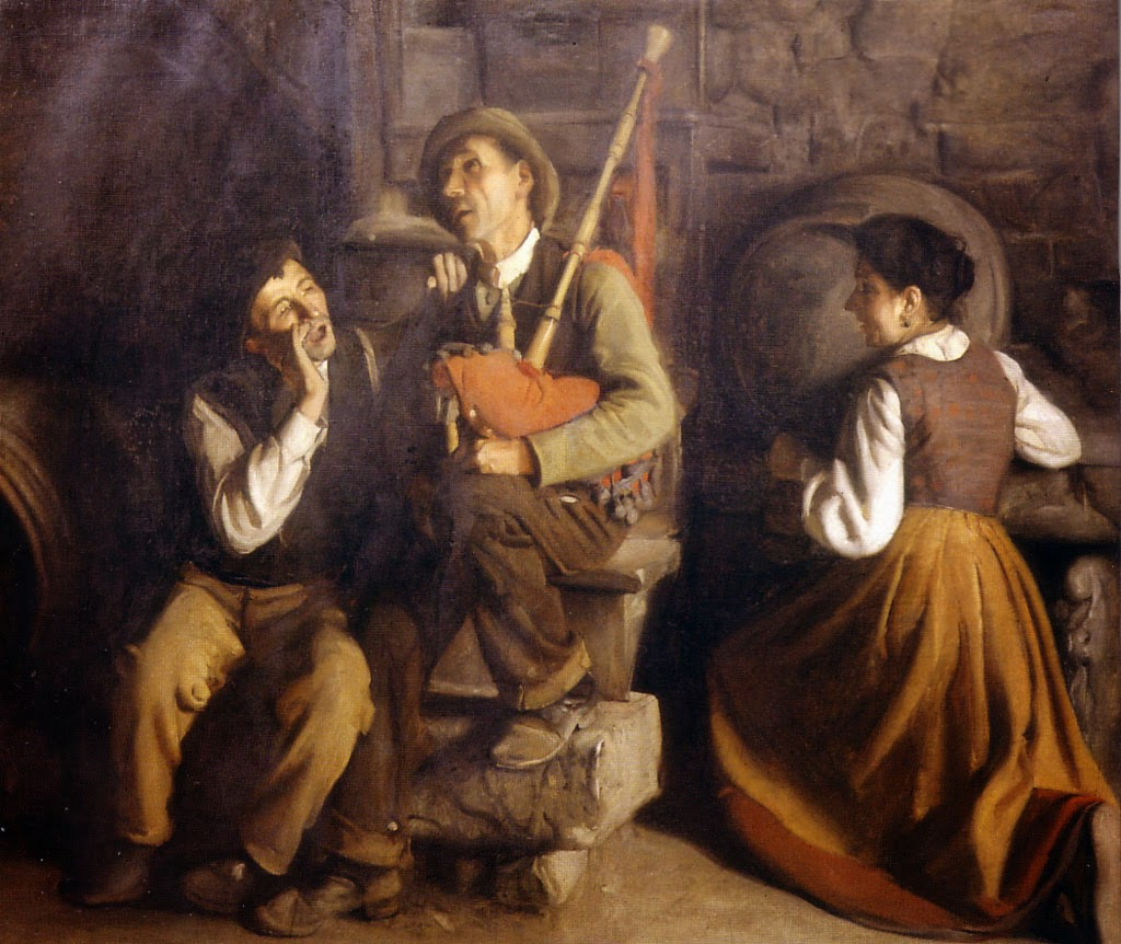 Maestros espa oles del retrato manuel medina d az - Pintores en gijon ...