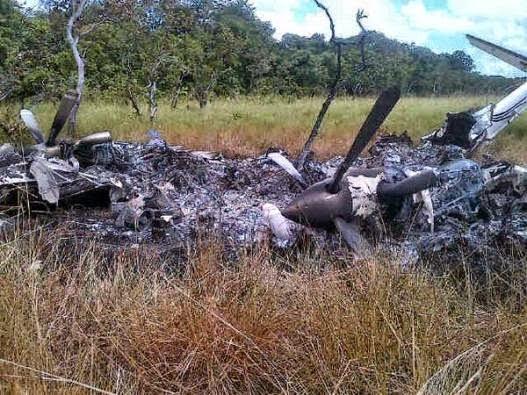 Avioneta destruida en Apure por F-16 Venezolanos