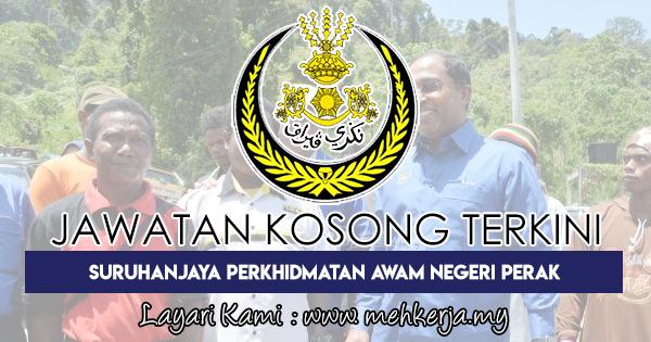 Jawatan Kosong Terkini 2018 di Suruhanjaya Perkhidmatan Awam Negeri Perak