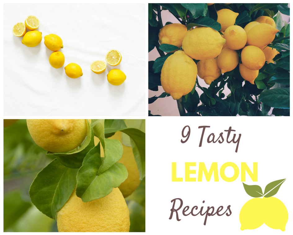 9 Tasty Lemon Recipes