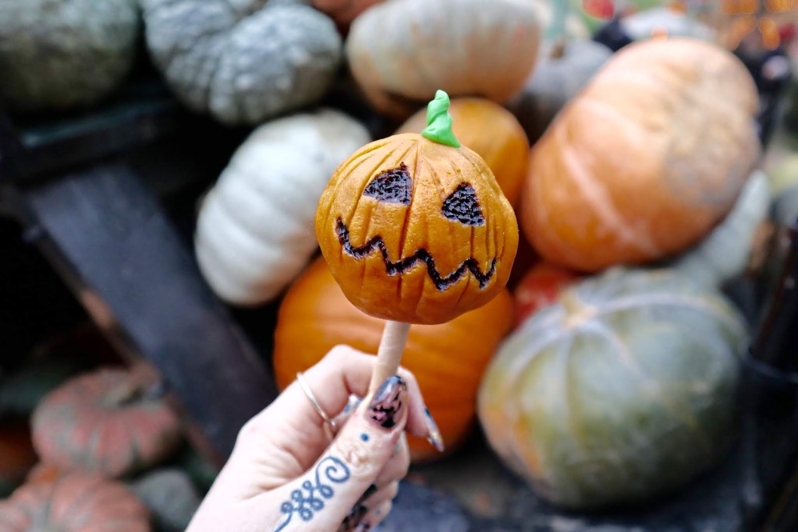 Tivoli Gardens vegan halloween snacks