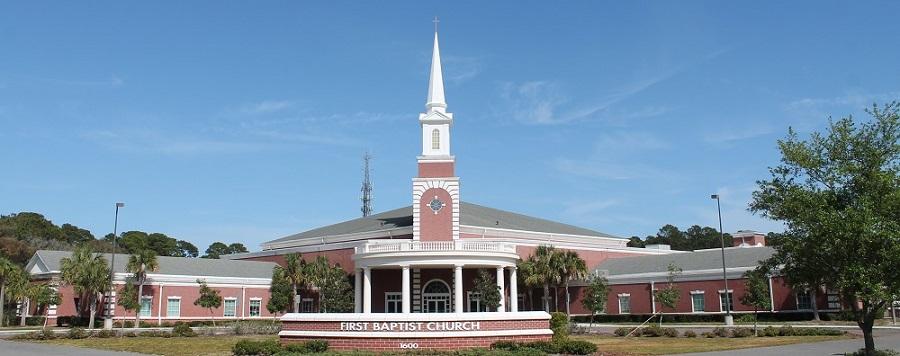 Iglesia bautista en Fernandina Beach