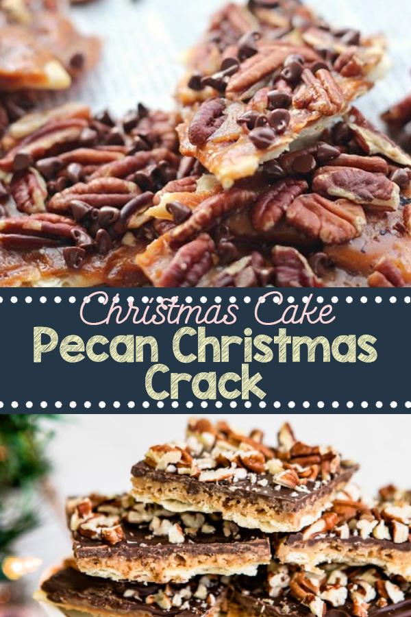 Pecan Christmas Crack | cake recipe, dessert recipes, chocolate cake recipe, carrot cake recipe, chocolate cake, easy cake recipes, cheesecake recipe, easy dessert recipes, baking recipes, sponge cake recipe, simple cake recipe, fruit cake recipe, vanilla cake recipe, pound cake recipe, chocolate recipes, apple cake recipe. #pecanchristmas #christmascrack