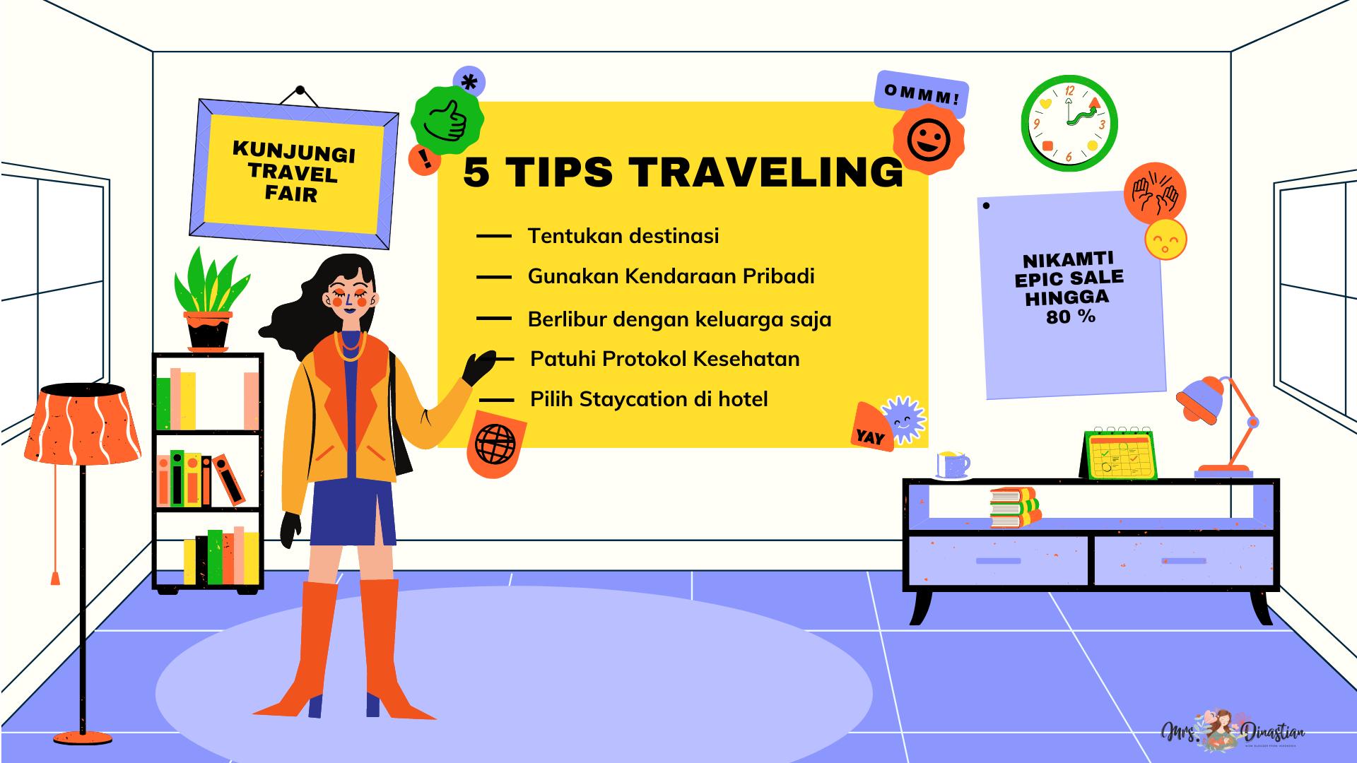 5 Tips Traveling ditengah pandemi covid-19