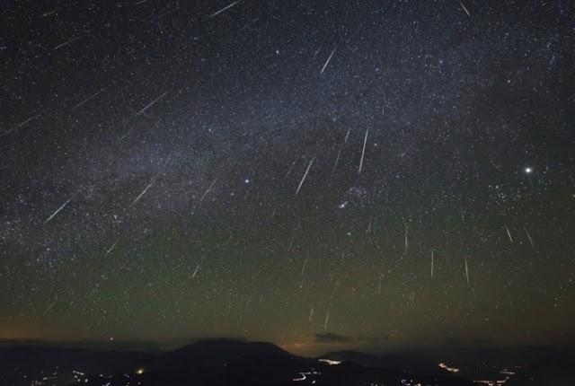 Belo espetáculo! Brasileiros poderão ver chuva de meteoros nesta terça-feira