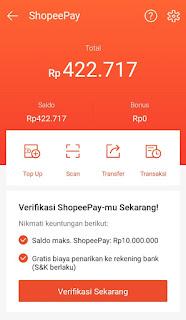 Cara Transfer Saldo Shopeepay ke Shopeepay Lain (Akun Teman)
