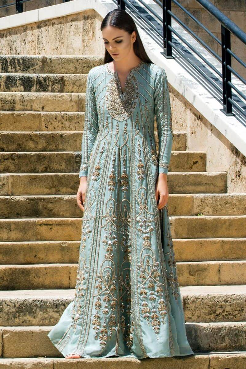 Latest and elegant bridal wears collection by Nida Azwer