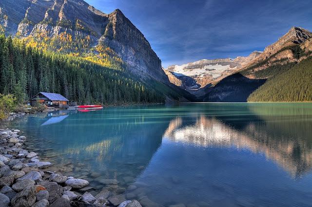 Lago Louise em Banff