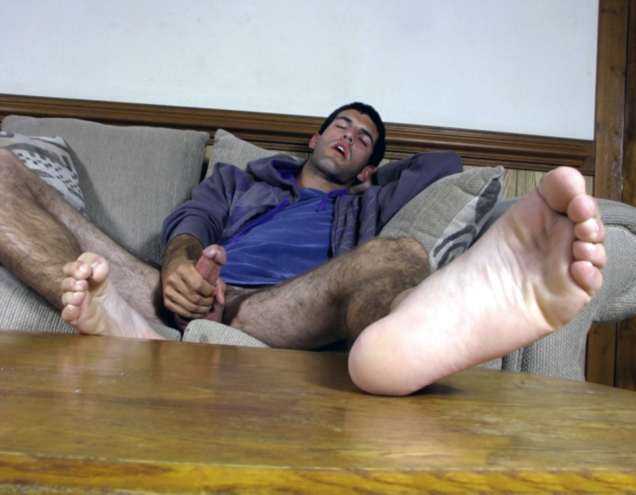 Beautiful men and their bare feet