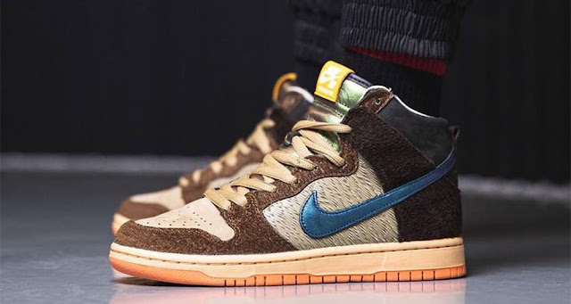 "Concepts x Nike SB Dunk High ""Duck"""