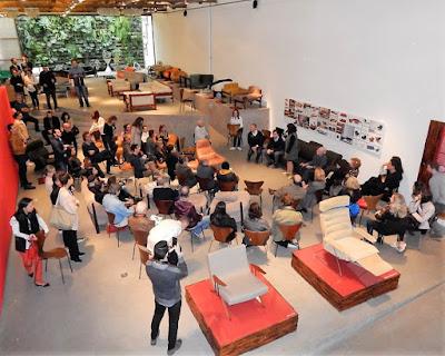 Palestra de Percival Lafer na Loja Teo em São Paulo: um evento ímpar da semana de design da metrópole em 2017.