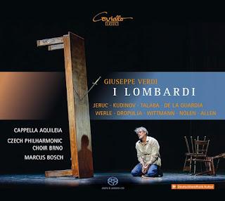 Verdi: I Lombardi - Cappella Aquileia, Marcus Bosch - Coviello Classics