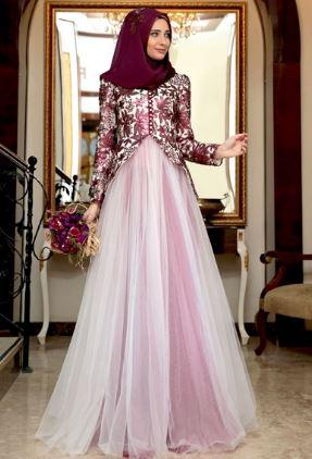 35+ Inspirasi Model Gaun Pesta Muslim Modern 2020