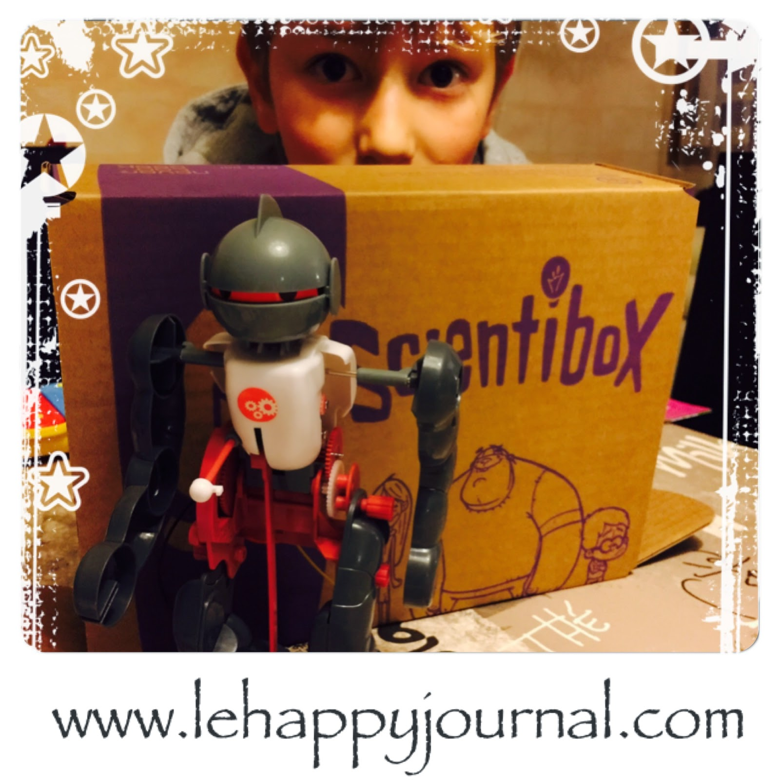 scientibox, robot, activité, box, happy journal, vidéos, construction