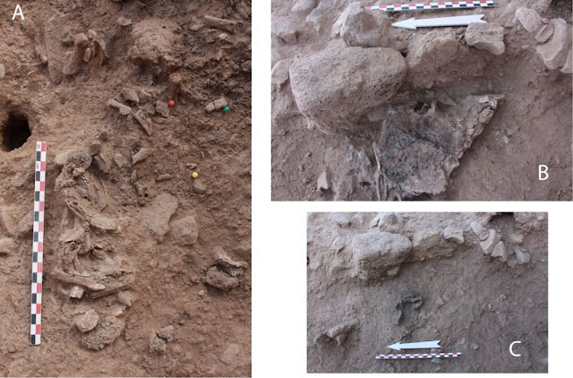Oldest known cremation in the Near East dates to 7000 BC
