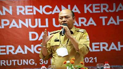 Dalam Rangka Penyusunan RKPD Tahun 2022 Bupati Taput Prioritaskan Pembangunan yang lebih Spesifik
