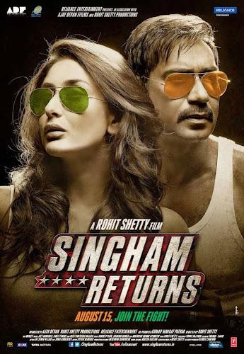 Singham Returns (2014) Movie Poster No. 1