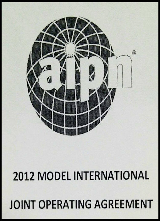 68 Alessandro-Bacci-Middle-East-Blog-Books-Worth-Reading-AIPN-2012-Model-International-Joint-Operating-Agreement