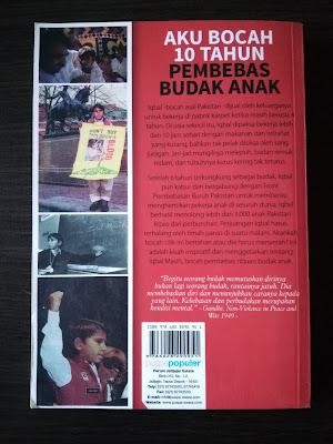 Sinopsis Buku Aku Bocah 10 Tahun Pembebas Budak Anak