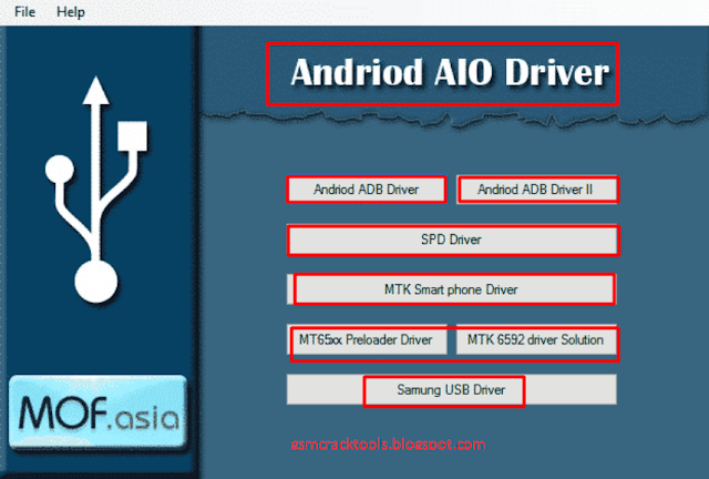 Android AIO Driver Pack 2019 All MTK, SPD, ADB,Samsung Driver [Update 2019 ]