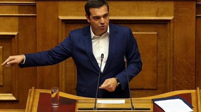 """Επίκαιρη ερώτηση Τσίπρα σε Μητσοτάκη για την επιστροφή στην """"κανονικότητα"""" των Μνημονίων στα εργασιακά"""