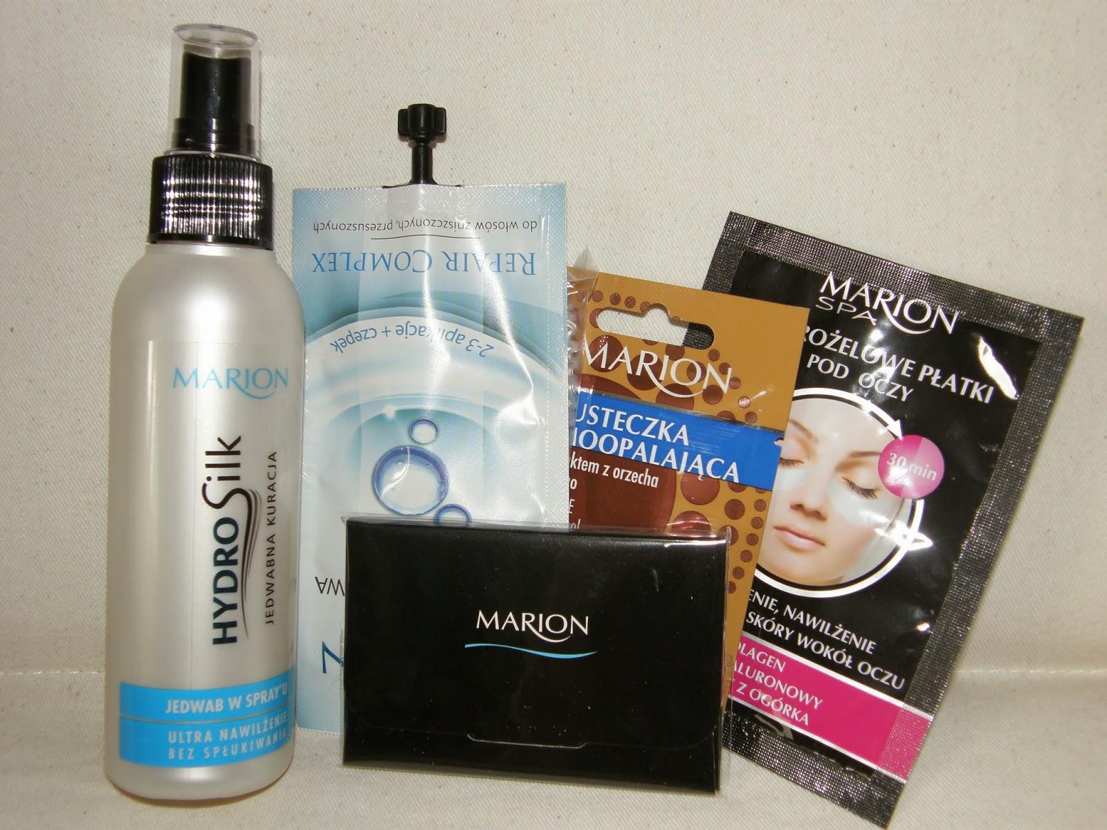 Kosmetyki Marion - prawdziwe DOMOWE SPA