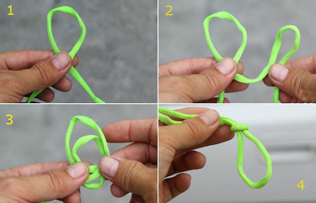 как сделать петлю на шнурок