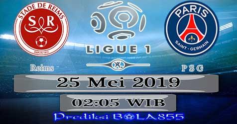 Prediksi Bola855 Reims vs Paris Saint Germain 25 Mei 2019