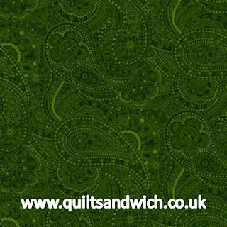Black Chelsea Green www.quiltsandwich.co.uk extra wide