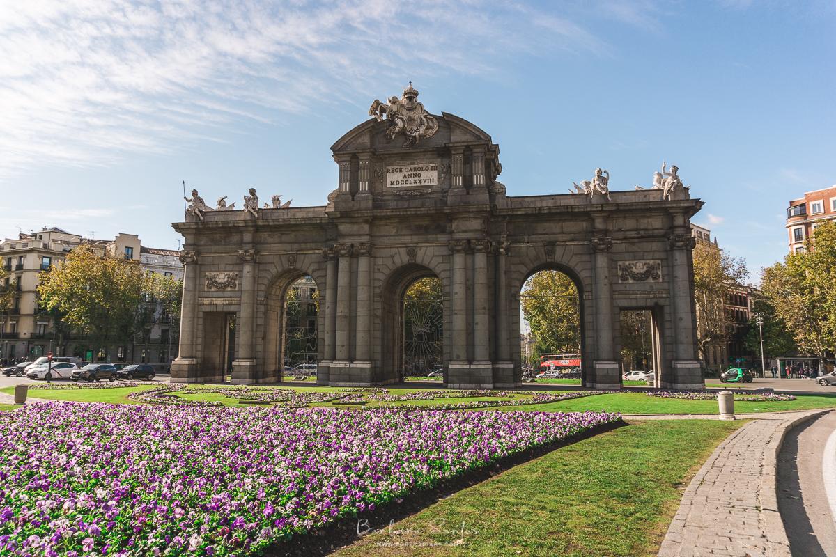 Puerta de Alcalá - Madrid, Spain