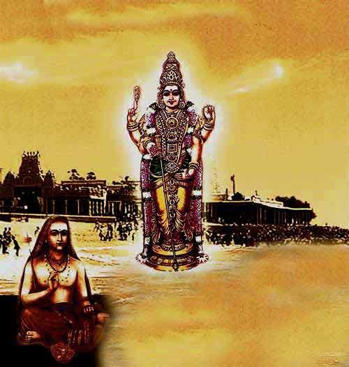 Story Of Composing Subramanya Bhujangam By Adi Shankaracharya