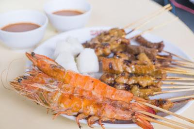 jual bahan sate seafood, jual bahan sate seafood purbalingga cilacap