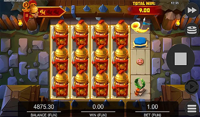 Ulasan Slot Relax Gaming Indonesia - Marching Legions Slot Online