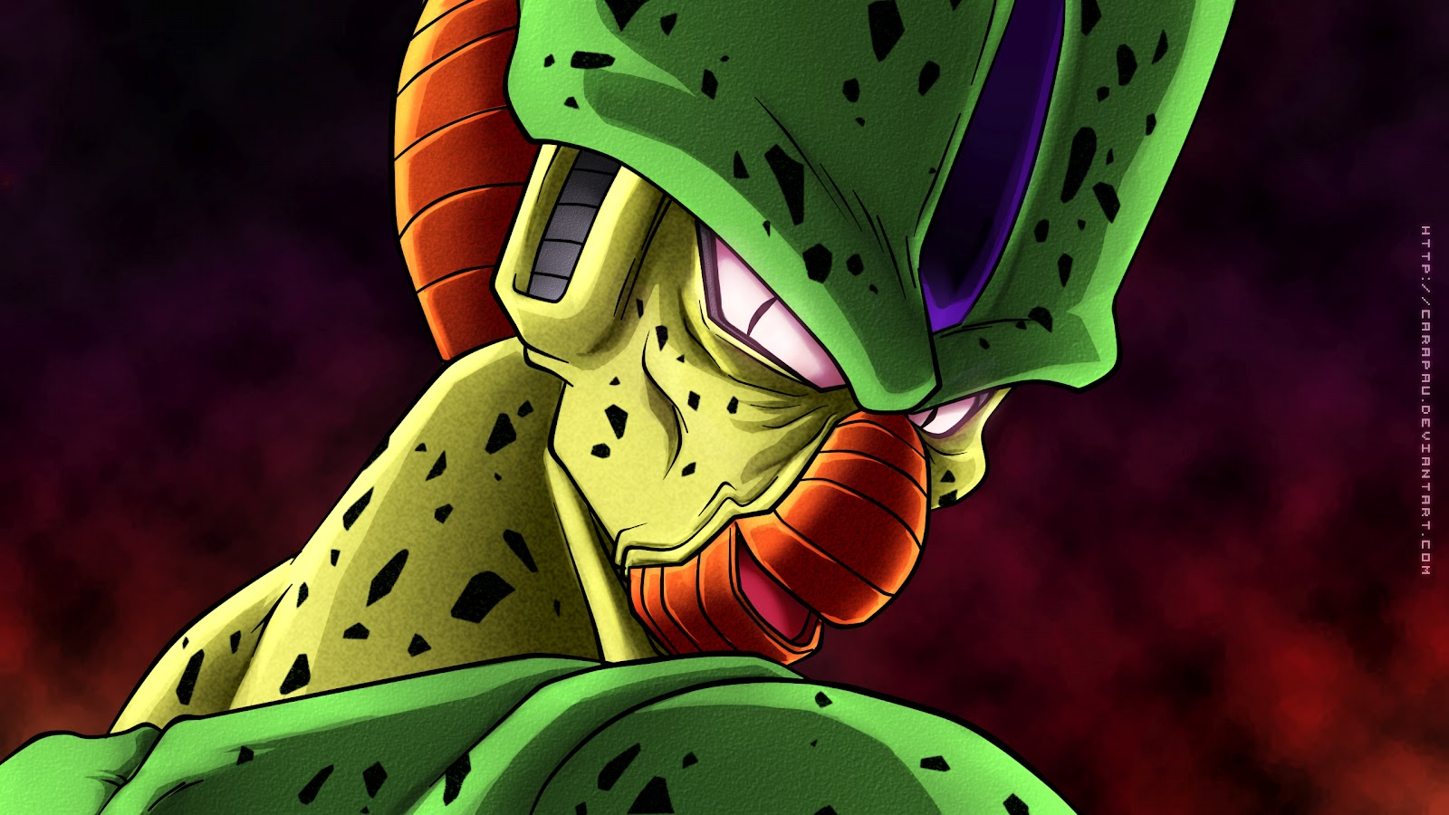 DRAGON BALL Z WALLPAPERS: Imperfect cell