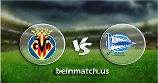 مشاهدة مباراة ديبورتيفو ألافيس وفياريال بث مباشر اليوم 25-01-2020 في الدوري الاسباني