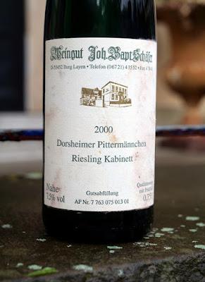 Riesling aus dem Weingut Bapt. Schäfer.
