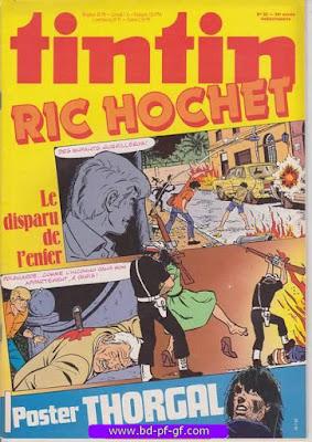 Tintin-numéro 30, année 38, 1983, Ric Hochet, Thorgal