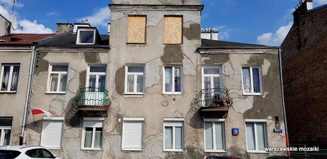 Warszawa Warsaw Praga Południe ulica zabudowa architektura architecture przedwojenne Gocławek