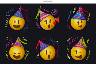 Happy New Year Emoji Stickers 2019 coming soon