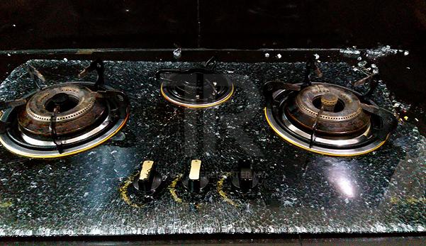 Jangan Lap Dapur Gas Kaca Dengan Kain Basah Ketika Masih Panas The Reporter