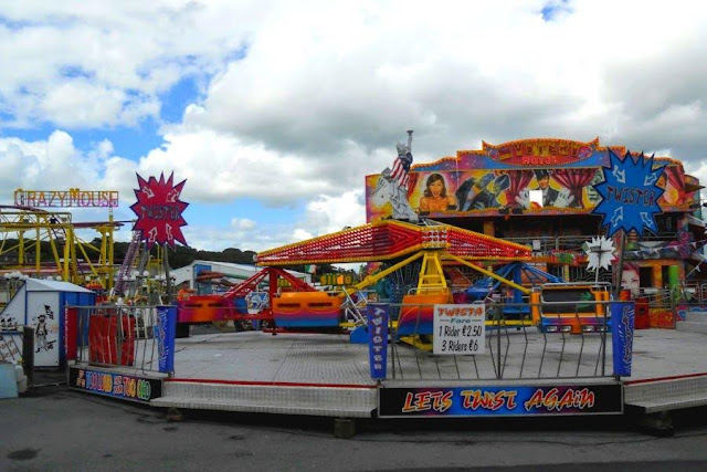 Tramore fun park on the drive between Dublin City and Waterford City