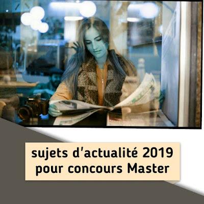 sujets,d'actualité,2019,au,Maroc