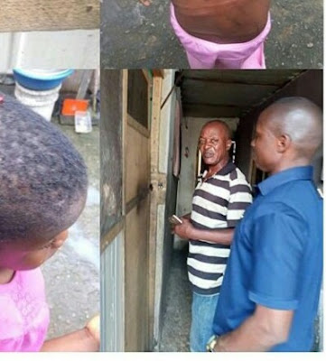 Anger Policeman Arrested For Brutalizing His Daughter In Uyo (Photo)