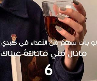 رواية لو بات سهم من الاعداء في كبدي الفصل السادس - سـارا بنت محمد