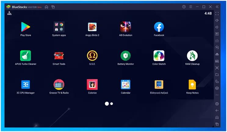 Bluestacks : Τρέξτε τις αγαπημένες σας εφαρμογές Android στο Pc σας
